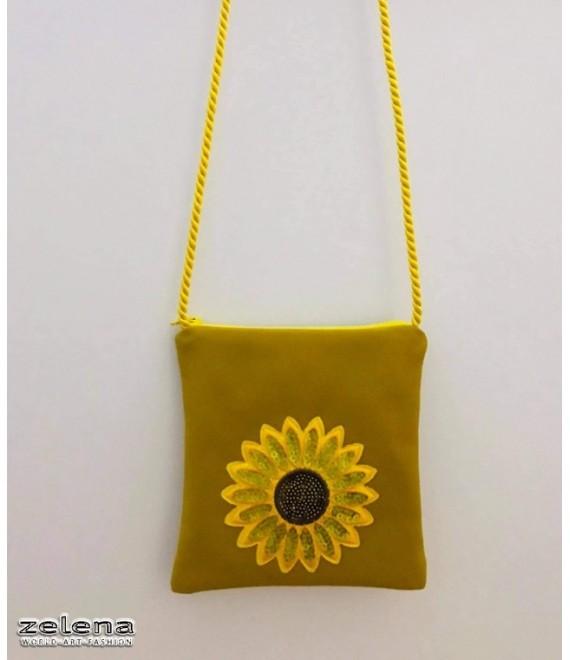 Dívčí kabelka žlutá